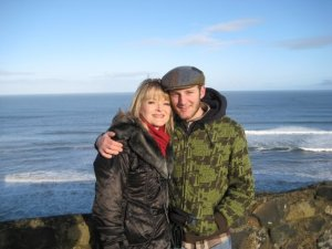 jan and Phil In Ireland